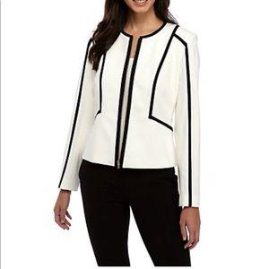 Calvin Klein Contrast Zip Front Jacket